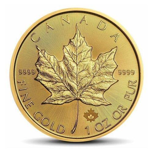 Royal canadian mint Kanadyjski liść klonowy 1 uncja złota - 15 dni