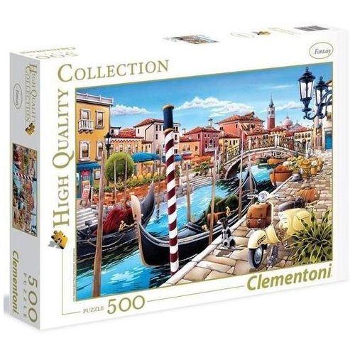 Clementoni Puzzle 500 elementów. hq venetian lagoon (8005125350261)