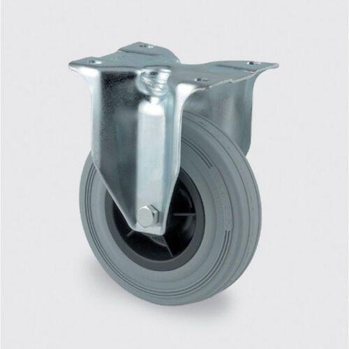 Koła przemysłowe z maksymalnym obciążeniem 70-205 kg, szara guma marki Tente