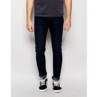 Lee Jeans Luke Stretch Skinny Fit Raven Blue Acid - Blue, kolor niebieski