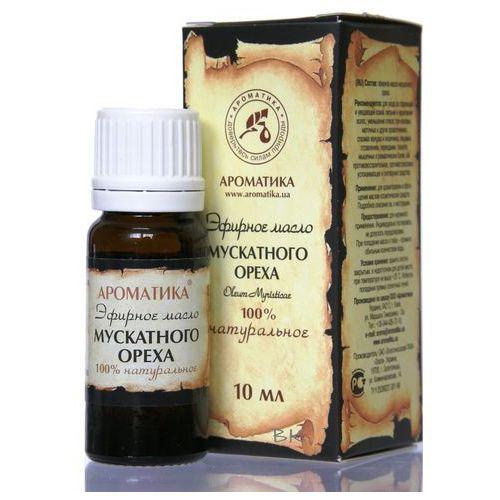 Aromatika Naturalny olejek muszkatołowy, gałka muszkatołowa, 10 ml