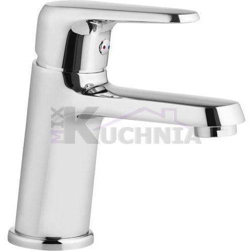 Bateria umywalkowa stojąca z korkiem click-clack avis bgv 021m chrom marki Deante