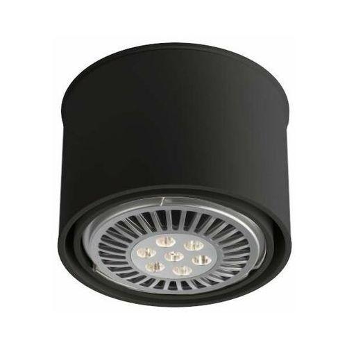 Spot lampa sufitowa miki 7017 natynkowa oprawa okrągły downlight czarny marki Shilo