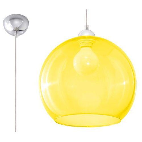Sollux Lampa wisząca ball żółty sl.0252 - (5902622427515)