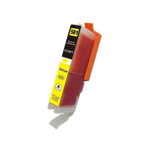 zastępczy atrament Canon [CLI-581Y XXL] yellow