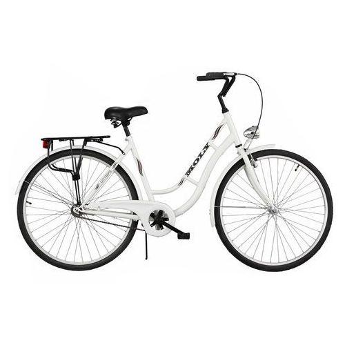Rower DAWSTAR Moly Biały + WYPRZEDAŻ! - Skorzystaj z wyjątkowej oferty rowerowej! + 5 lat gwarancji na ramę! (5901986491613)