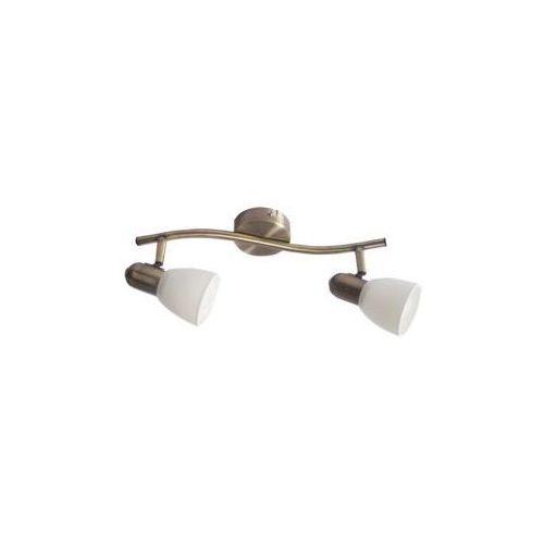 Lampa ścienna soma 2x40w patyna marki Rabalux