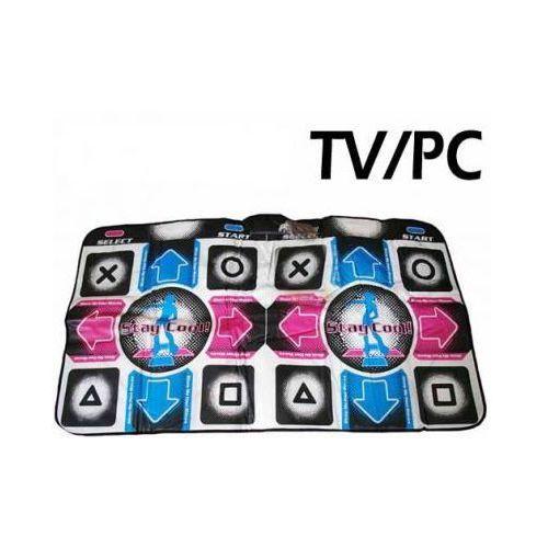 2-osobowa mata do tańczenia (178/180 utworów i 56 gier!!) pod tv i komputer. marki Dance mat