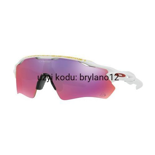 Oakley Okulary radar ev path tour de france matte white prizm road oo9208-50