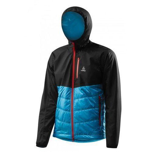 primaloft hooded jacket niebieski 52 czarny 2015-2016 marki Löffler