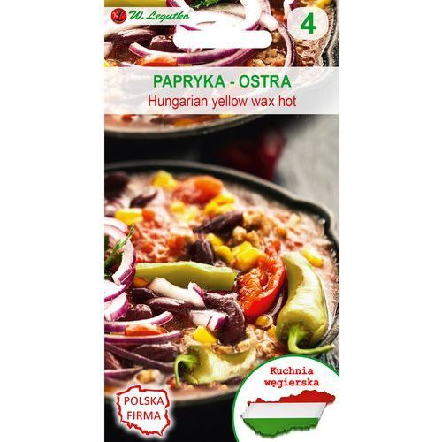 Legutko papryka hungarian żółta kuchnie świata 0,5g (5903837456215)