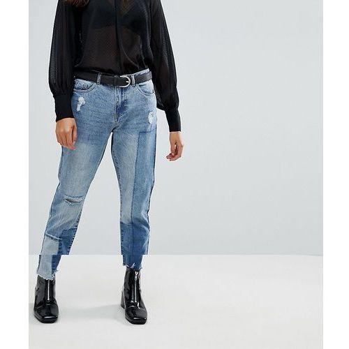 Only Boyfriend Patchwork Jeans - Blue
