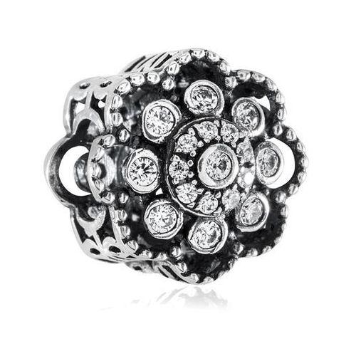 Murrano Charms koralik srebrny ósmy dzień tygodnia