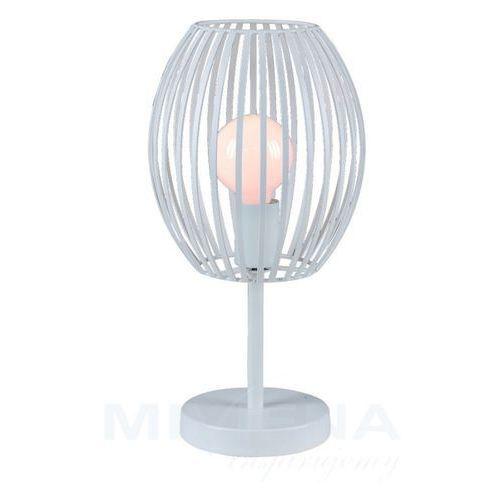 Viokef Ines lampa stołowa 1 biały