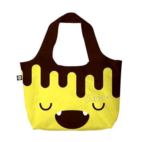 Bg berlin eco bags eco torba na zakupy 3w1 - chocobanana