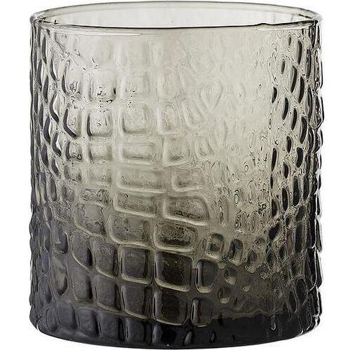 Świecznik na tealighty 9 cm przydymiony szklany marki Bloomingville