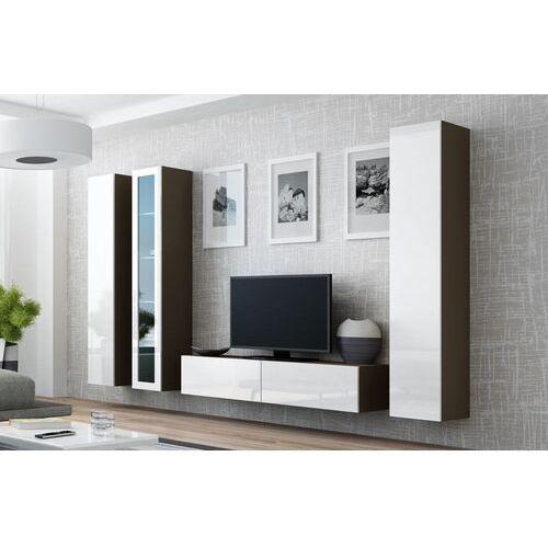 High glossy furniture Vilalba 15 nowoczesna meblościanka na wysoki połysk