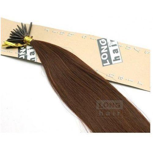 Włosy na zgrzewy syntetyczne - Kolor: #33 - 20 pasm, 8278