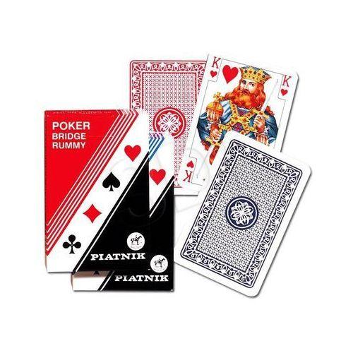 Piatnik karty 1 talia pllastikowe standard 9001890136405 - odbiór w 2000 punktach - salony, paczkomaty, stacje orlen