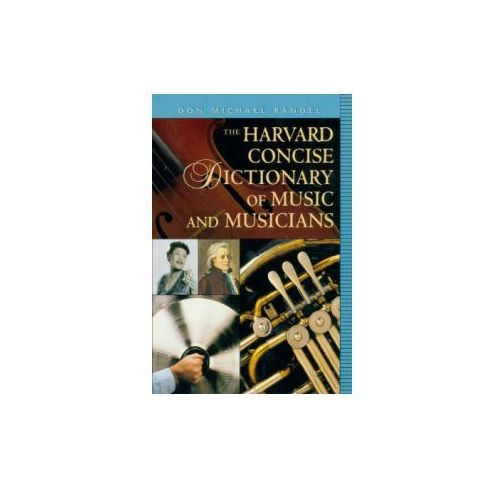 Harvard Concise Dictionary of Music and Musicians (9780674009783)