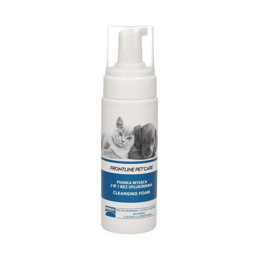 Frontline pet care - pianka myjąca 2w1 bez spłukiwania 150ml
