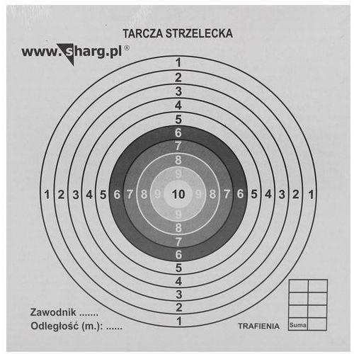Tarcze strzeleckie Sharg 140x140mm 100szt (100-01) (2010000149775)
