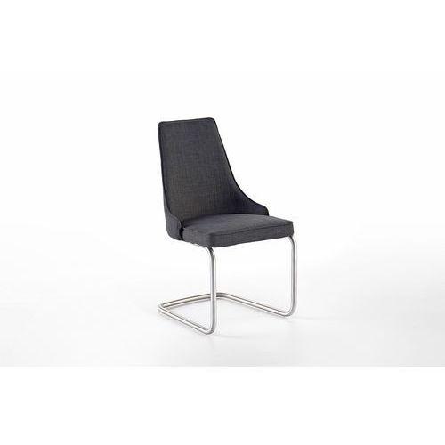 Krzesło ELARRA B stelaż stal szlachetna szczotkowana, płoza