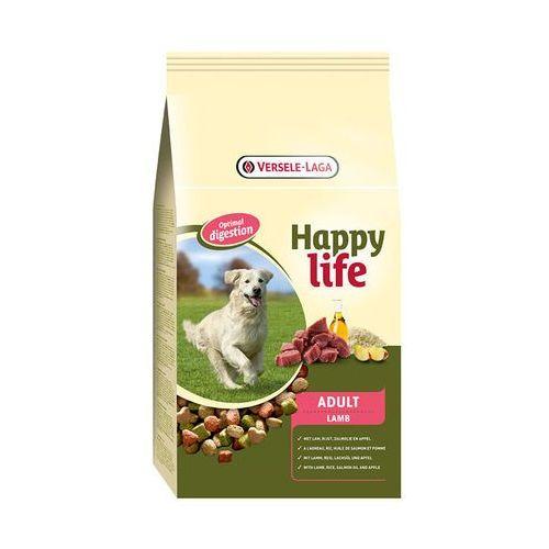 VERSELE-LAGA Happy Life Adult Lamb 15kg | Darmowa dostawa - 15000