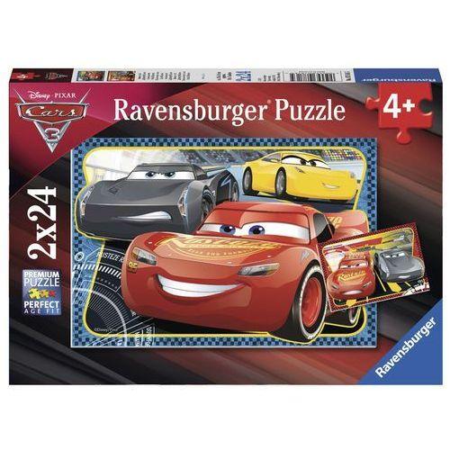 Tm toys Puzzle cars 3 light i mcqueen 2x24 el. 4005556078165 - odbiór w 2000 punktach - salony, paczkomaty, stacje orlen