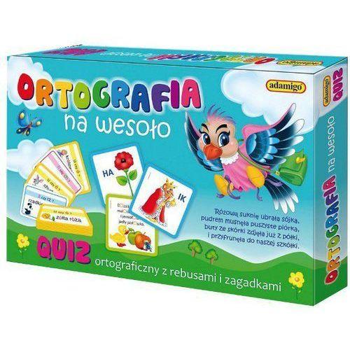 Adamigo Gra quiz ortografia na wesoło (5902410006168)
