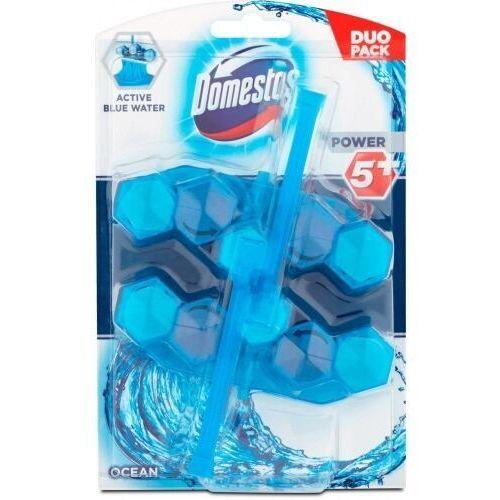 Domestos power 5+ niebieska woda kostkawc ocn 2x53g