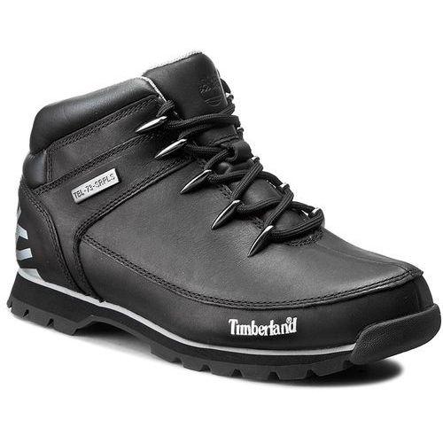 Trapery TIMBERLAND - Euro Sprint A17JR/TB0A17JR0011 Black, kolor czarny