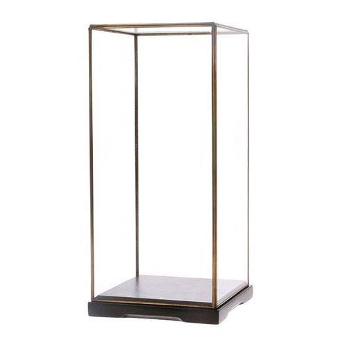 HK Living Kwadratowa szklana kopuła rozmiar M AOA9975