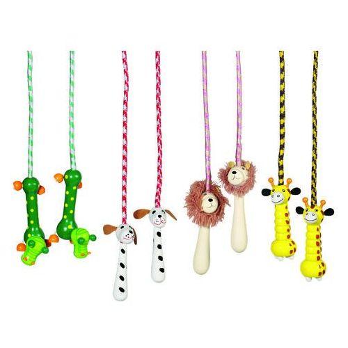 Skakanka z drewnianymi uchwytami, Toys Pure63958, GOKI-63958