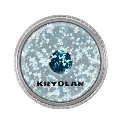 Kryolan polyester glimmer coarse (turquoise) gruby sypki brokat - turquoise (2901)