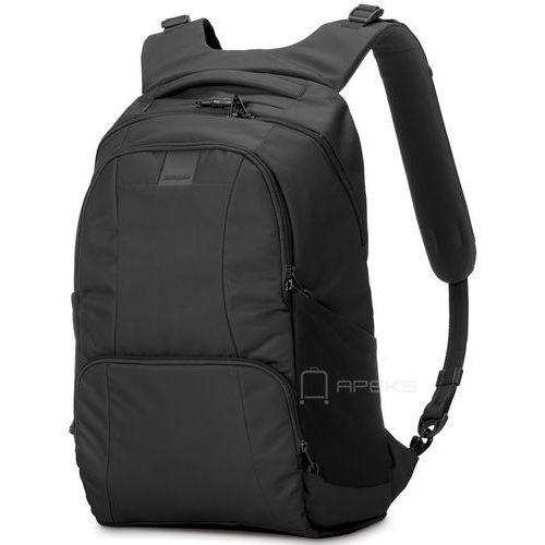 "Pacsafe Metrosafe LS450 plecak miejski na laptop 15"" / Black - Black"
