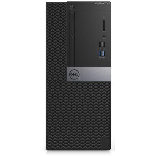optiplex 7040 n006o7040mt01 - intel core i5 6500 / 8 gb / 500 gb / intel hd graphics 530 / dvd+/-rw / windows 10 pro lub 7 pro / pakiet usług i wysyłka w cenie wyprodukowany przez Dell