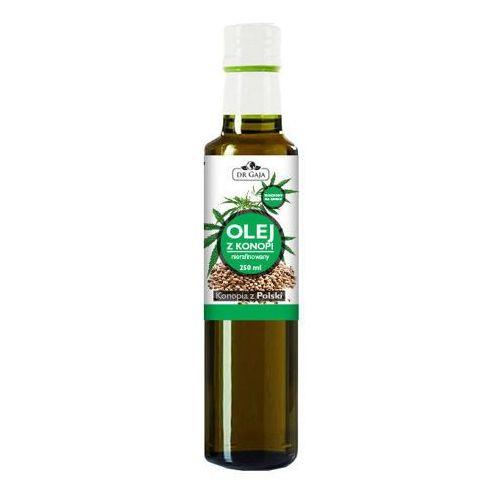 Dr gaja olej z konopi zimnotłoczony nierafinowany 250ml