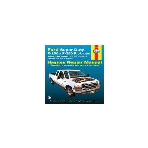 Ford Super Duty F-250 & F-350 Pick-ups 99 thru 10 (USA)
