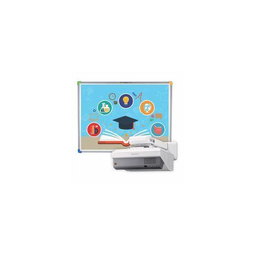 Interwrite Tablica interaktywna dualboard 1279+ projektor ultra short sony vpl-sx631 z uchwytem