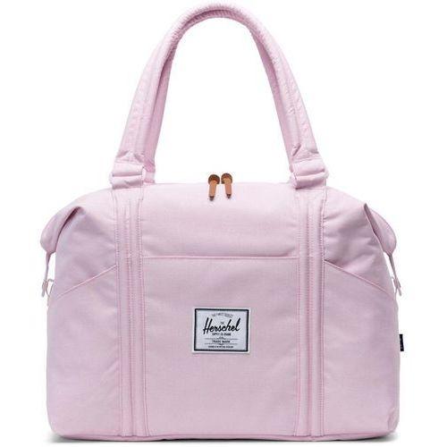 torba HERSCHEL - Strand Pink Lady Crosshatch (02452), kolor różowy