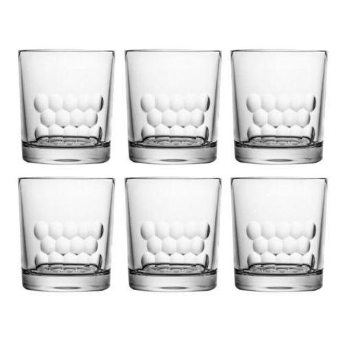 Huta julia Szklanki kryształowe do whisky kultowe formy 4349 w zestawie 6 szt.