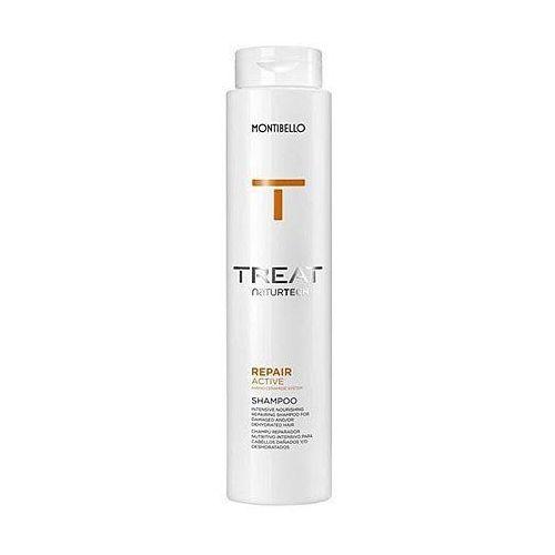repair active, szampon łagodnie myjący, odżywia i dogłębnie nawilża 300ml marki Montibello