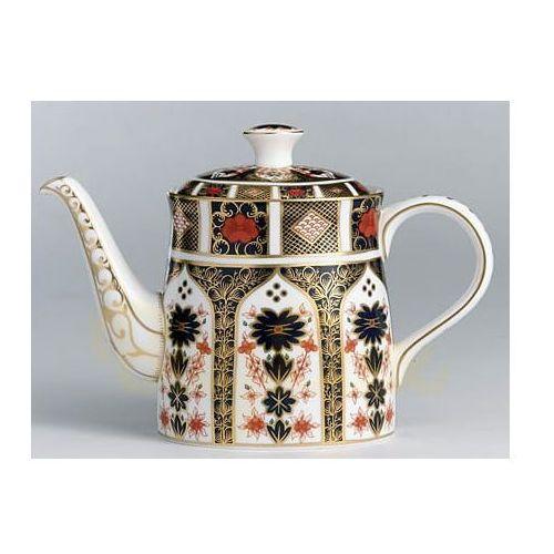 Royal crown derby old imari imbryk do herbaty 1,2l.