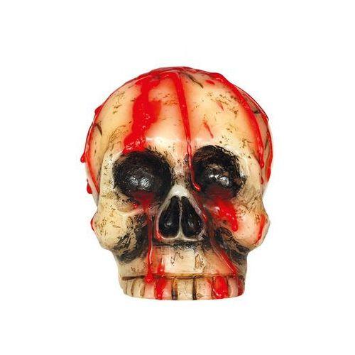 Gu Świeczka czaszka na halloween - 10 cm - 1 szt. (8434077263402)
