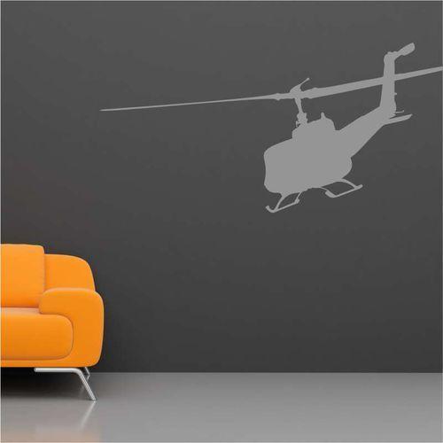 szablon malarski helikopter wojskowy 2304