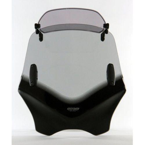 Uniwersalna szyba MRA do motocykli bez owiewek, forma - VFXSC1 (przyciemniana)