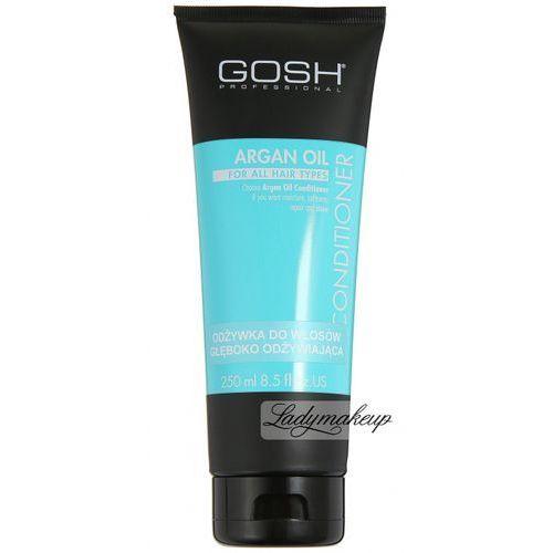 , argan oil, odżywka do włosów głęboko odżywiająca, 250ml marki Gosh