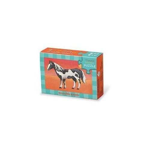 Puzzle dwustronne konie 24 marki Crocodile creek