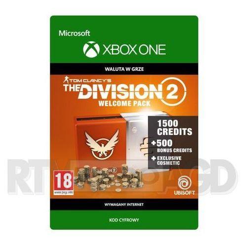 Tom Clancy's The Division 2 - Pakiet Powitalny [kod aktywacyjny] Xbox One (0000006201484)